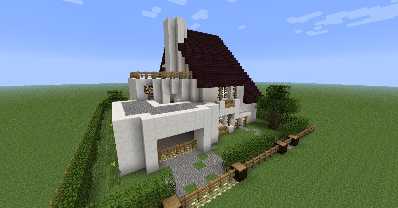 D co jardin moderne minecraft orleans 19 orleans for Minecraft maison moderne