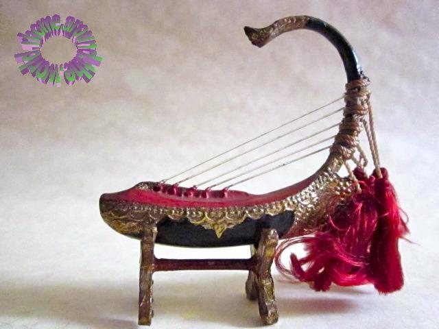 RHOME AROUND THE WORLD: MYANMAR (Burma) - Saung (Boat Harp)
