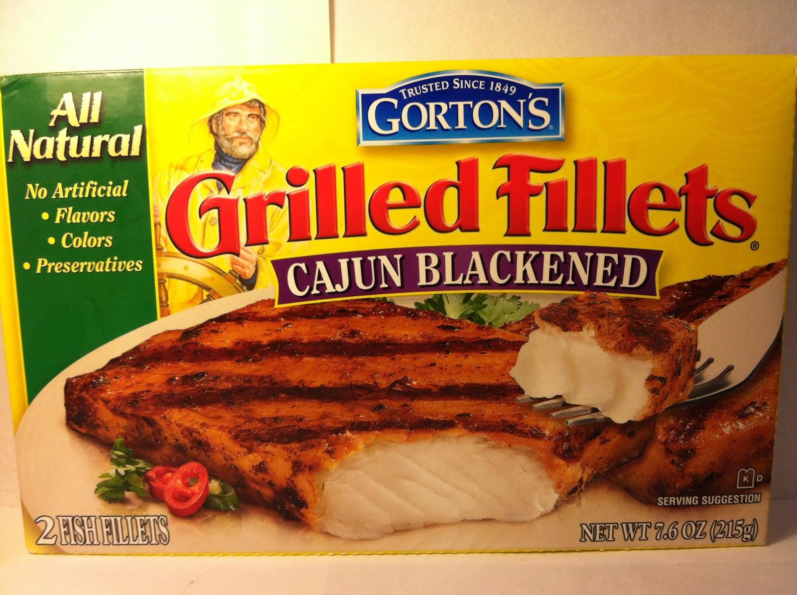 Crazy food dude review gorton 39 s cajun blackened grilled for Gorton s frozen fish