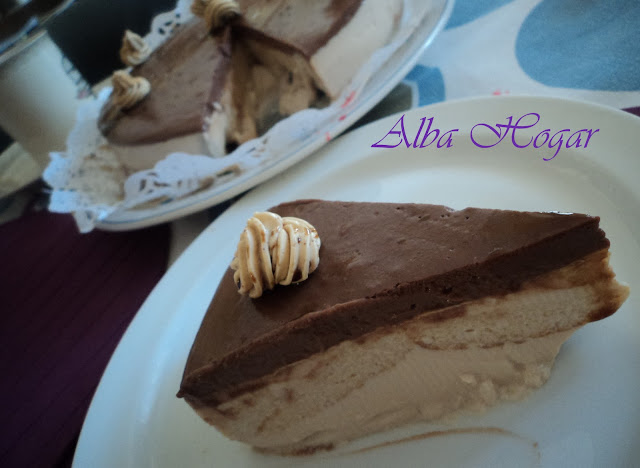 tarta de café chocolate y moka alba hogar