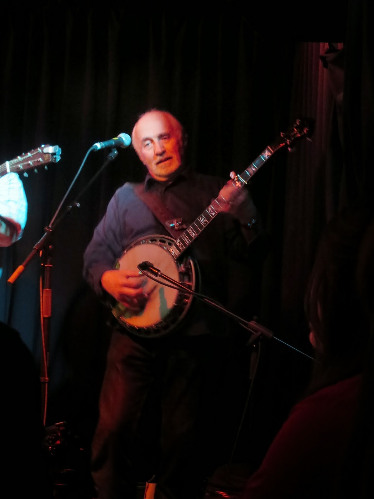 Greg Cahill - Banjo Player and Frontman for Special Consensus Bluegrass Band