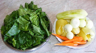 spanac, ceapa, morcovi, cartofi, dovlecel, retete cu legume, preparate din legume, retete culinare,
