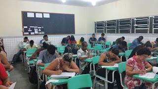Estudantes da EJA participam da Maratona de Matemática