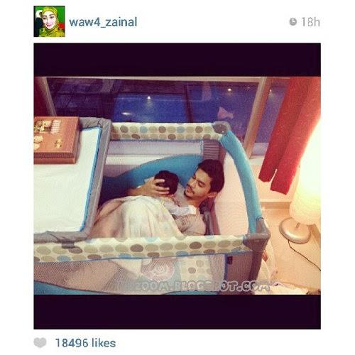 Gambar Terkini Anak Aeril Zafrel & Wawa Zainal