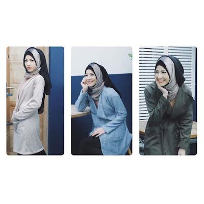 hijab kantor Natasha Rizki