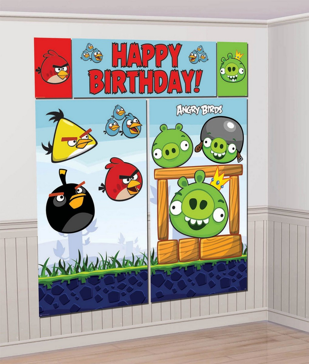 Best party ideas for Angry birds party decoration ideas