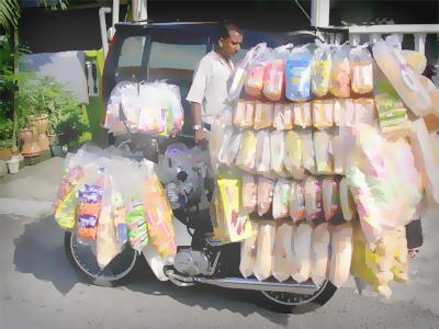 penjual roti