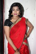Sowmya glamorous half saree photos-thumbnail-14