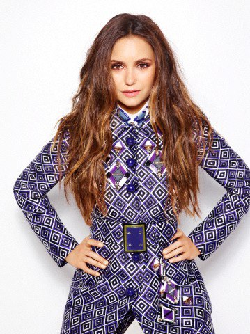 Nina Dobrev in Different Blue - The Vampire Diaries