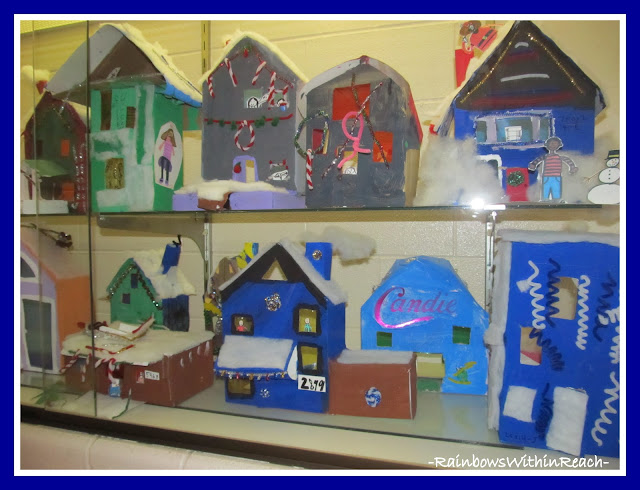 photo of: A Snow Covered Village in School Showcase via RainbowsWithinReach