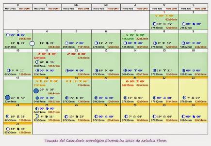 CALENDARIO MES MAYO 2015