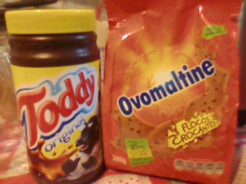 Toddy + Ovomaltine combinação mais que perfeita