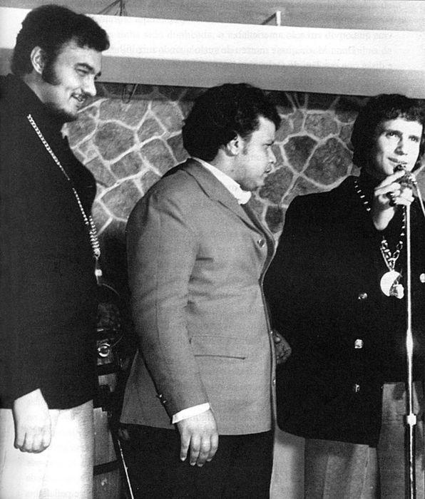Erasmo Carlos, Tim Maia, Roberto Carlos