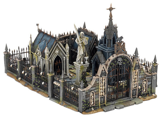 Vampire Counts terrain model