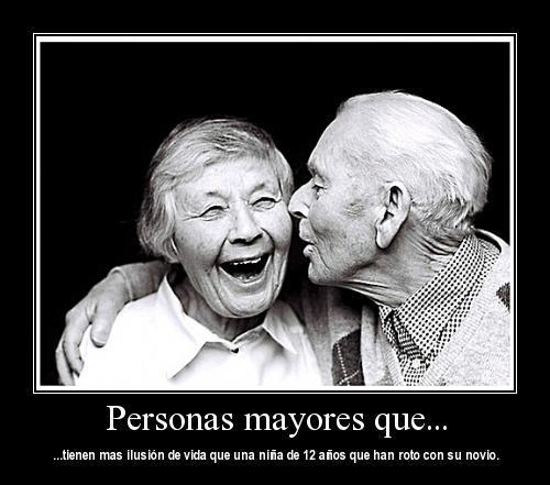 Frases cortas bonitas personas mayores con mas ilusi n de vida - Compartir piso con personas mayores ...