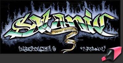 3d-graffiti-alphabet-arrow-satanic