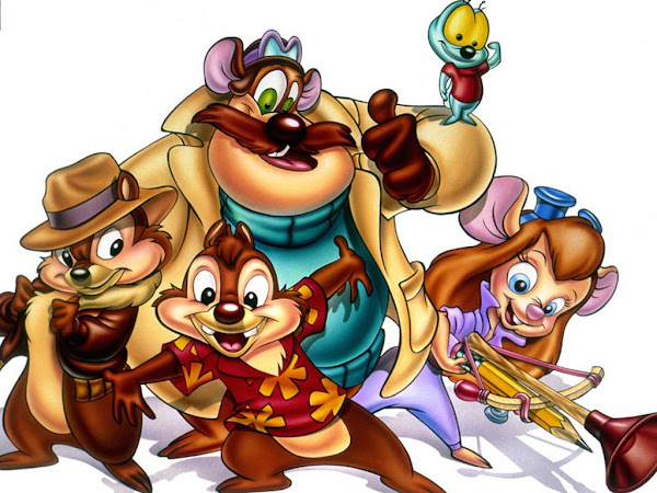 Chip and Dale Rescue Rangers Characters