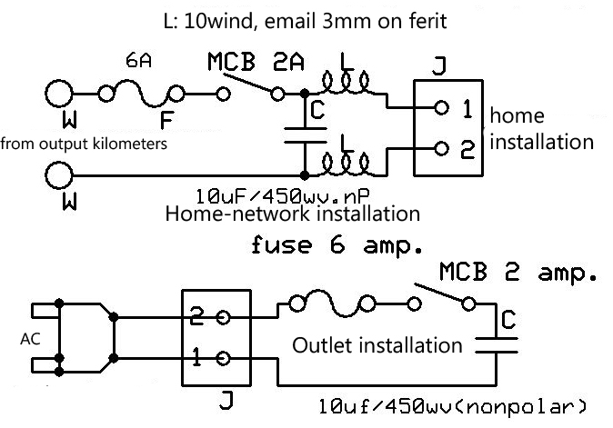 Savers Power Circuit Diagram