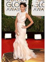 Роси Диас рокля с шлейф J. Mendel Златен глобус 2014