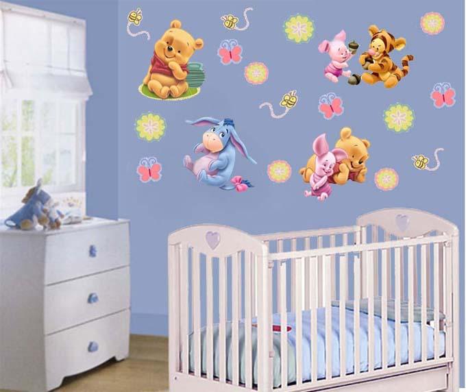 Pegatinas infantiles for Pegatinas para decorar habitaciones