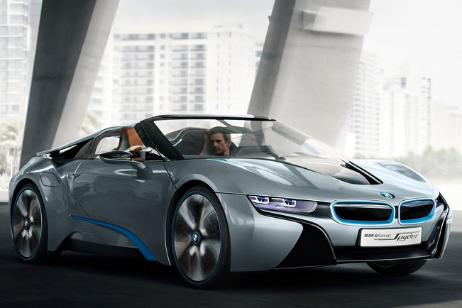 Bmw 39 s garage bmw i8 concept ganha vers o cabrio for Garage bmw 33