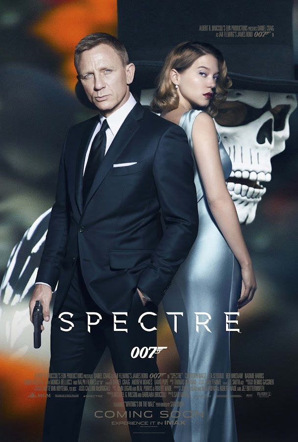 ตัวอย่างหนังใหม่ - 007 : Spectre (องค์กรลับดับพยัคฆ์ร้าย) ซับไทย  poster2