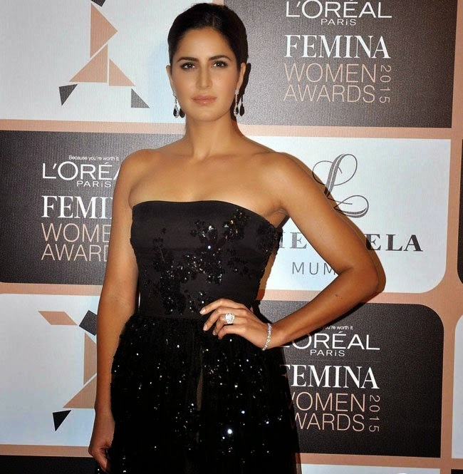 Katrina kaif latest hot photos at loreal femina women awards 2015