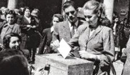 Por primera vez, las mujeres pueden votar