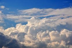 Die Wolkengetürme...