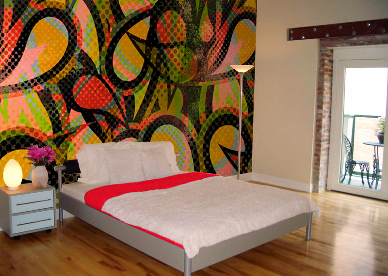 Diagenesis Graffiti Bedroom Design