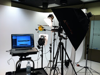 Shooting tethered in the studio