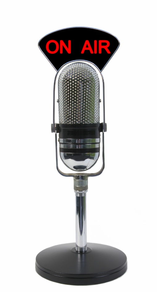 1....2...3... ESTAMOS EN EL AIRE  On-air-mic
