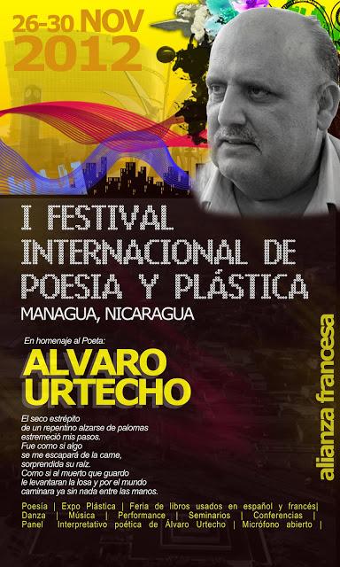 PARTICIPAÇÃO NO  FESTIVAL INTERNACIONAL DE POESIA DE MANÁGUA/ 2012