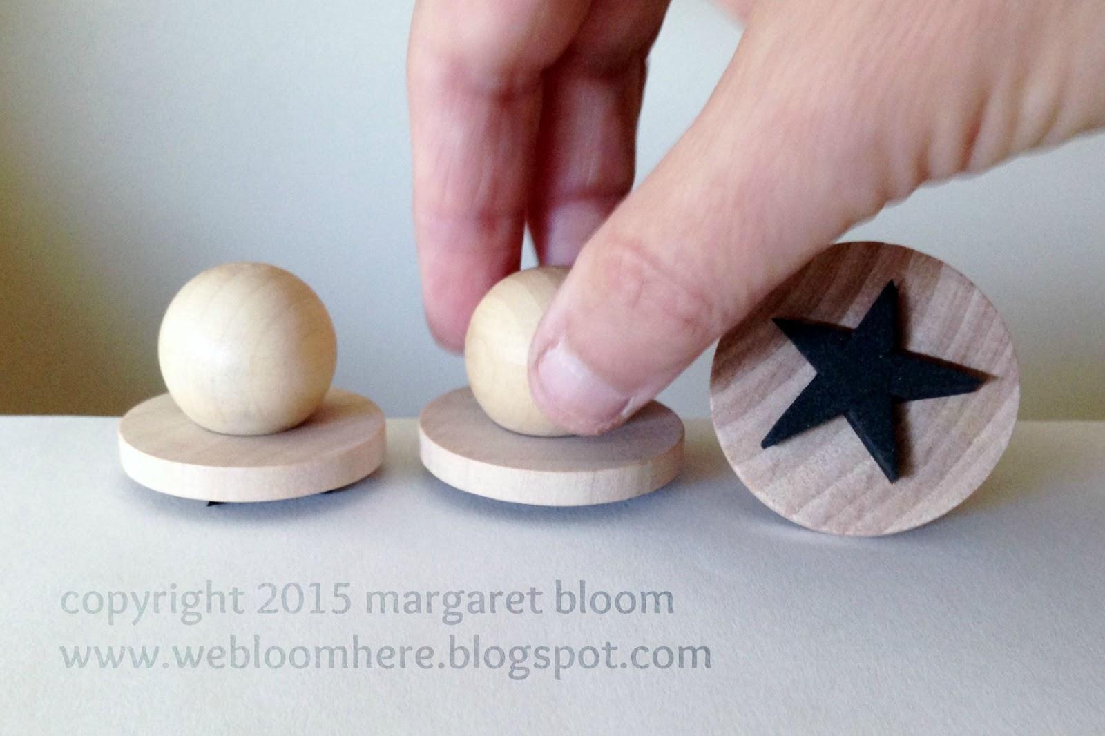 We bloom here tutorial craft foam stamps