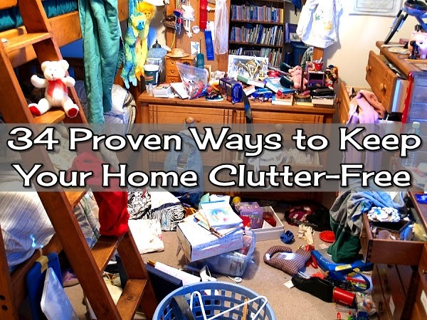 34 Proven Ways to Keep Your Home Clutter-Free