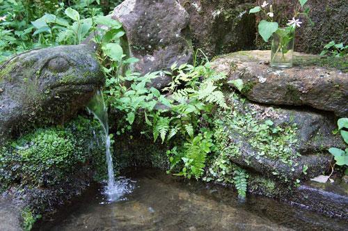 Hakuunsui Spring, Shiroyama Park Takayama, Gifu