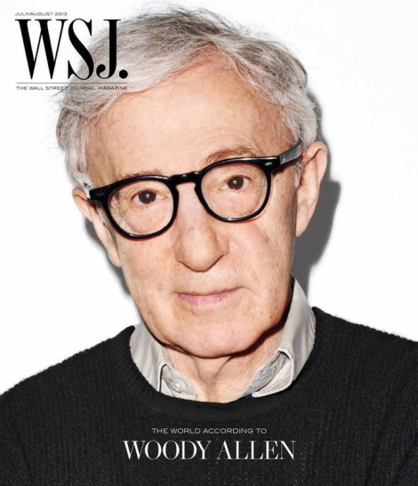Woody Allen by Terry Richardson for WSJ Magazine