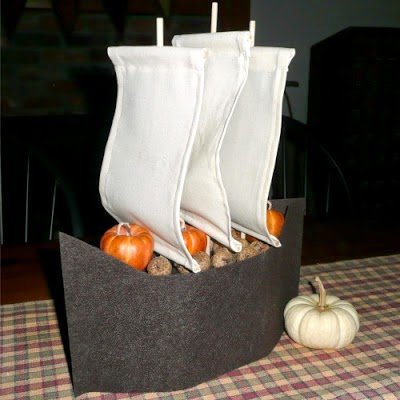 Gwenny Penny sailboat centerpiece tutorial