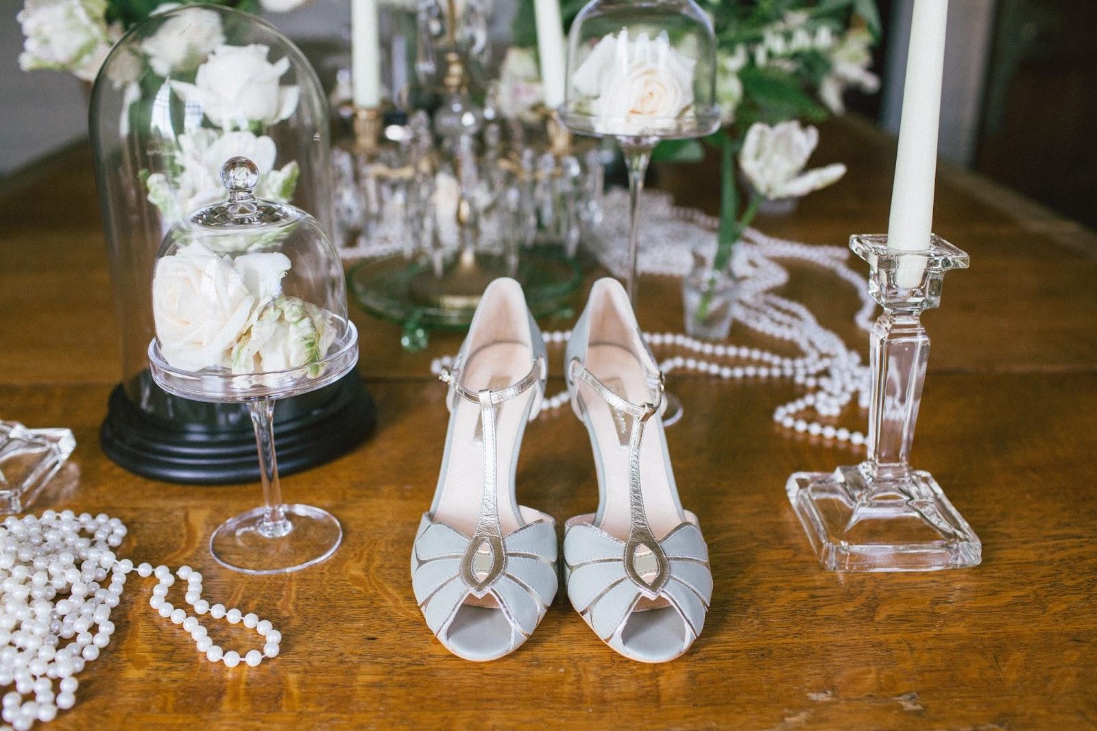 Vintage Inspired Wedding Shoes 40 Inspirational