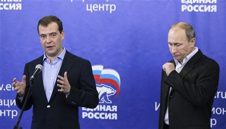 PUTIN AND MEDVEDEV, HOLDING RUSSIA HOSTAGE?
