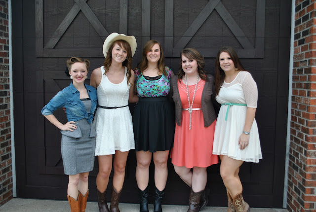 Flashback Summer:  Country Western University Banquet