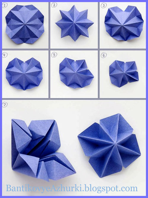 елочку в технике оригами