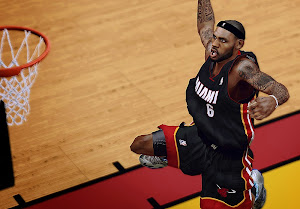 NBA 2k14 LeBron James Cyberface Patch