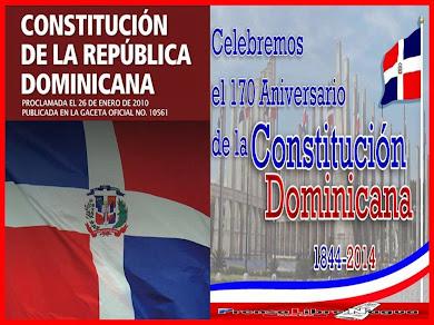 6 NOVIEMBRE DIA DE LA CONSTITUCION DOMINICANA