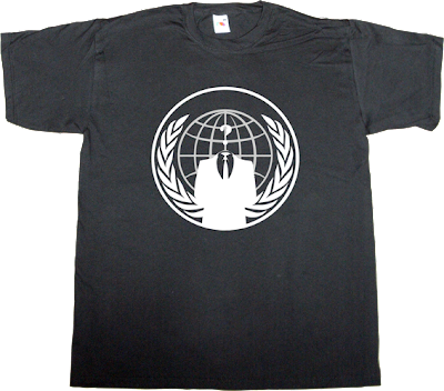Anonymous activism internet 2.0 t-shirt ephemeral-t-shirts