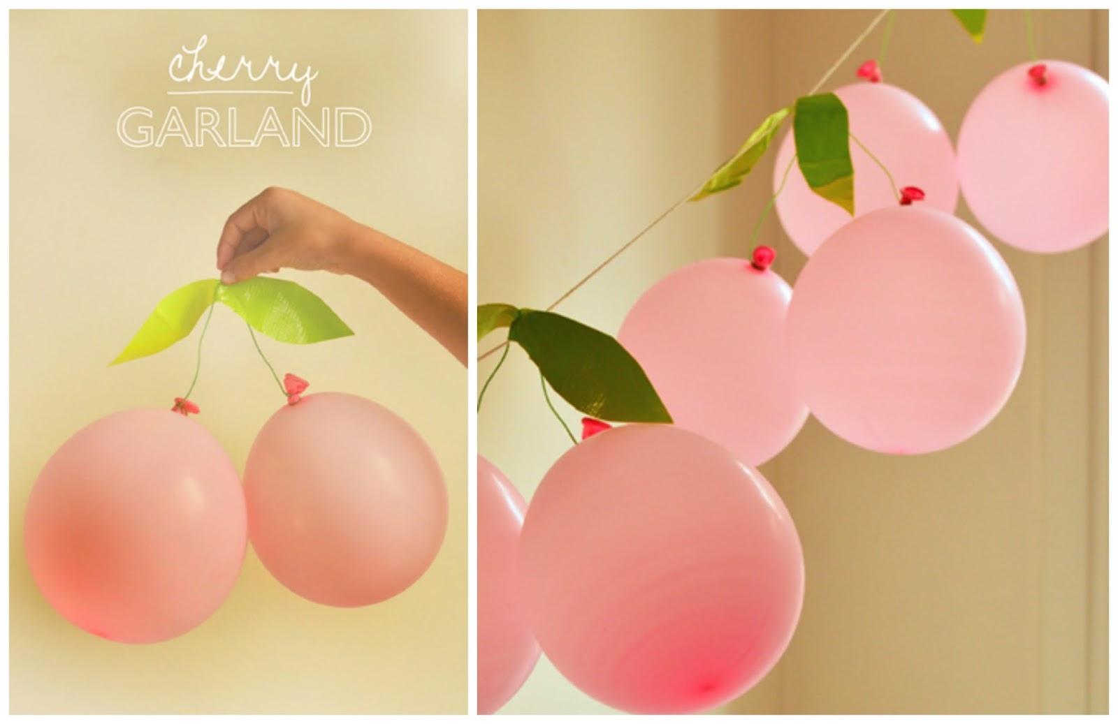 Diy guirnalda hecha con globos for Decoracion de globos para fiestas infantiles paso a paso
