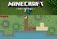 Minecraft Tower Defense 2 walkthrough.