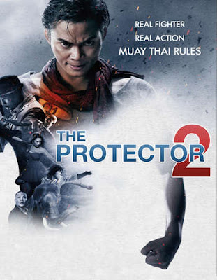 Poster Of Free Download The Protector 2 AKA Tom Yum Goong 2 2013 300MB Full Movie Hindi Dubbed 720P Bluray HD HEVC Small Size Pc Movie Only At exp3rto.com