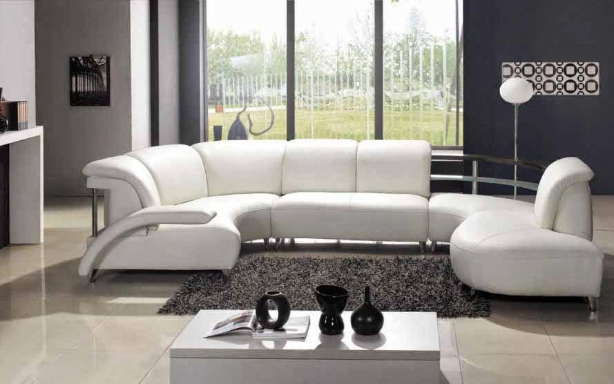 Bentuk-bentuk sofa ruang tamu 2