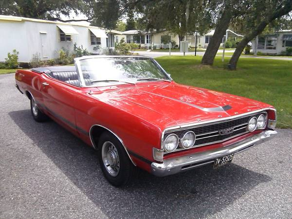 Rare 1968 Ford Torino Gt Convertible Buy American Muscle Car